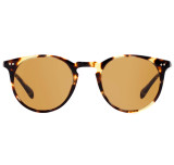 Oliver Peoples Sir O'Malley Sun Vintage Dark Brown Tortoise with Champagne Photochromic Glass