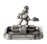 Art Deco Iron Fireman Ashtray