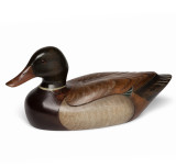 Carved and Painted Duck Decoy