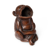 Bronze Monkey Cigar Ashtray