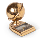 Art Deco Globe Cigarette Holder & Ashtray