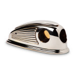 Streamline Chrome Art Deco Cigar Cutter