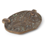 Bronze Hunting Hounds Cigar Ashtray