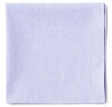 Lavender Oxford Pocket Square
