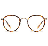 Oliver Peoples MP-2 Vintage Dark Tortoise Brown Antique Gold