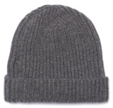 Classic Pure Cashmere Grey Watch Cap