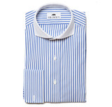 Lennox Navy Shirt French Cuff