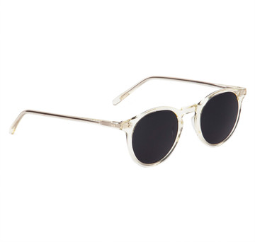 Oliver Peoples O'Malley Sun Beige Crystal With Grey Smoke Glass