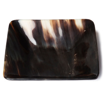 Square Ox Horn Tray