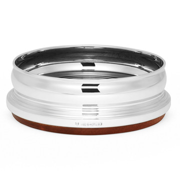 Sterling Silver Barreled Wine Coaster