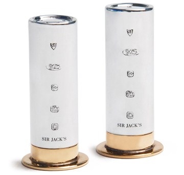 Sterling Cartridge Salt & Pepper Shakers