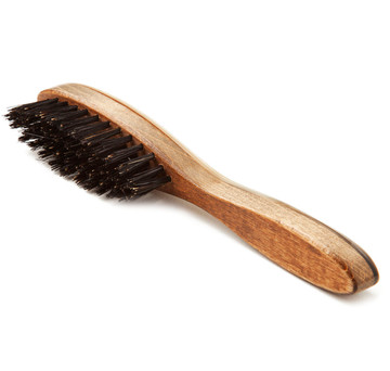 Ox Horn Suede Shoe Brush