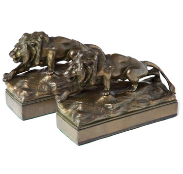 Stealth Lion Bookends