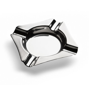 Sterling Silver Engine-Turned Ashtray