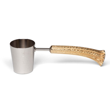 Napier Stag Horn Handle Jigger