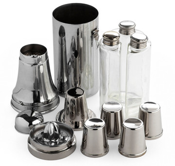 Milk Bottle Cocktail Shaker Compendium
