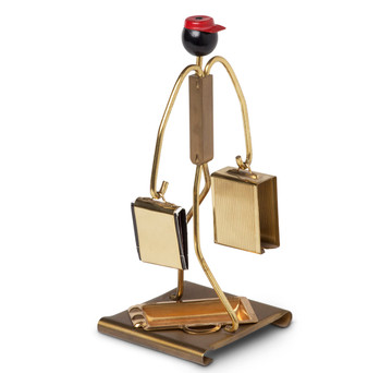 Art Deco 'Red Cap' Porter Smoking Companion