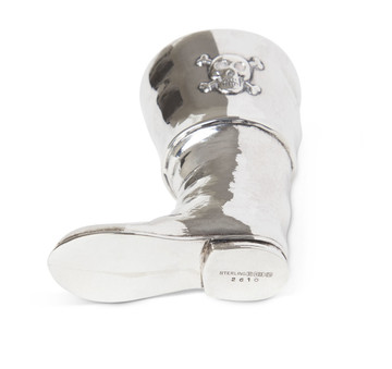 R. Blackinton Sterling Pirate Boot Jigger