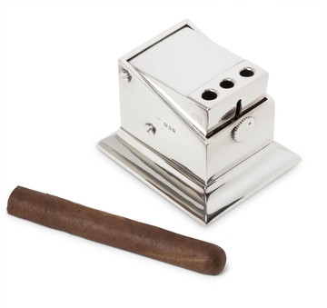 Sterling Silver Tabletop Triple Cigar Cutter