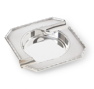 Sterling Silver Octagonal Ashtray