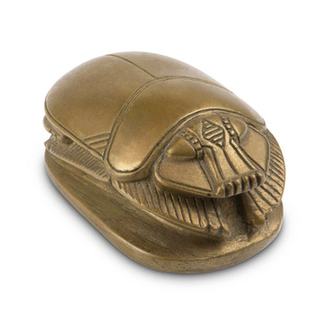 Egyptian Revival Bronze Scarab Paperweight