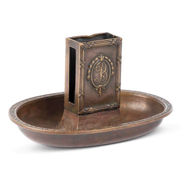 Gorham Bronze Biltmore Hotel Ashtray