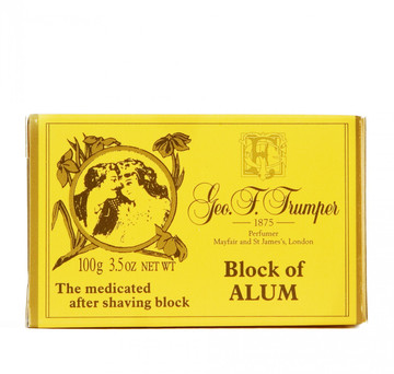 Geo. F. Trumper Block of Alum