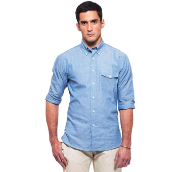 Sudbury Blue Chambray Shirt