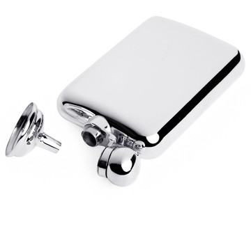 6oz Sterling Silver Captive Top Flask