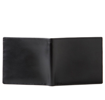Sir Jack's Black Smooth Calf Bifold Wallet