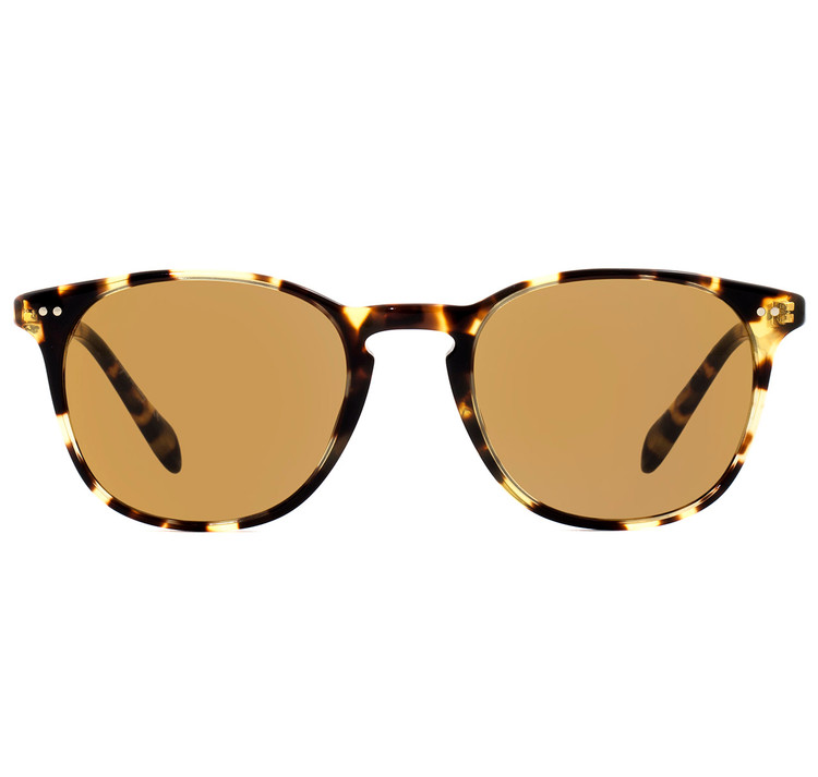 Oliver Peoples Sir Finley Vintage Dark Tortoise Brown with Champagne Photochromic Glass