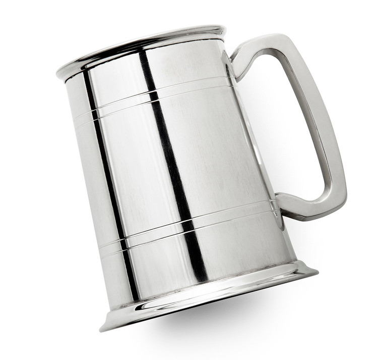 Pewter Boston Tankard