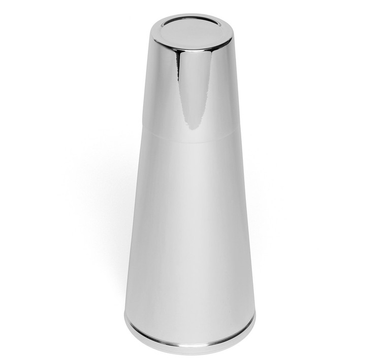 Napier Silver-Plated Cone Cocktail Shaker
