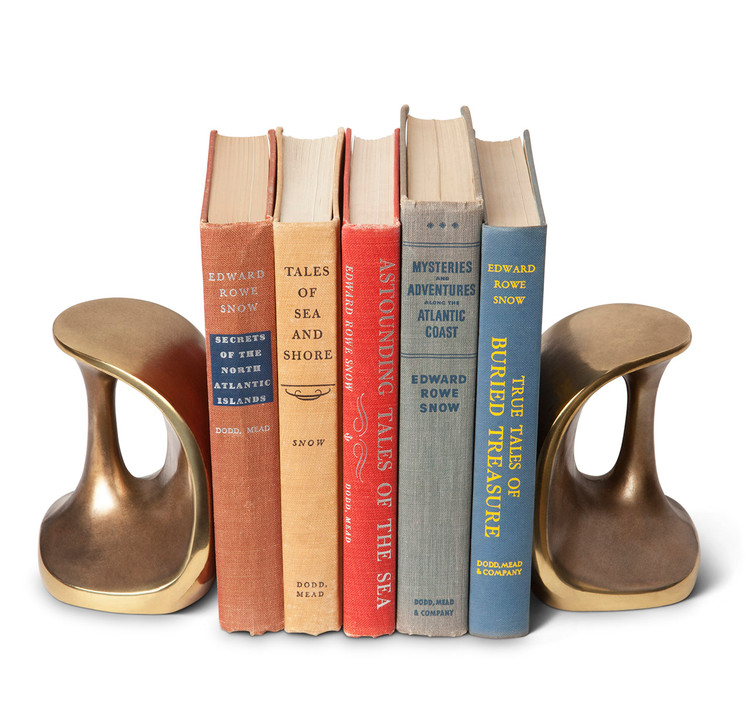 Ben Siebel Mid-Century Modern Sculptural Bookends