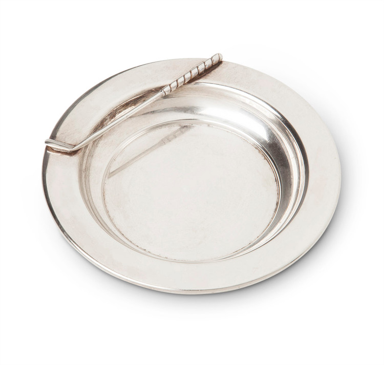 Golf Club Sterling Silver Ashtray