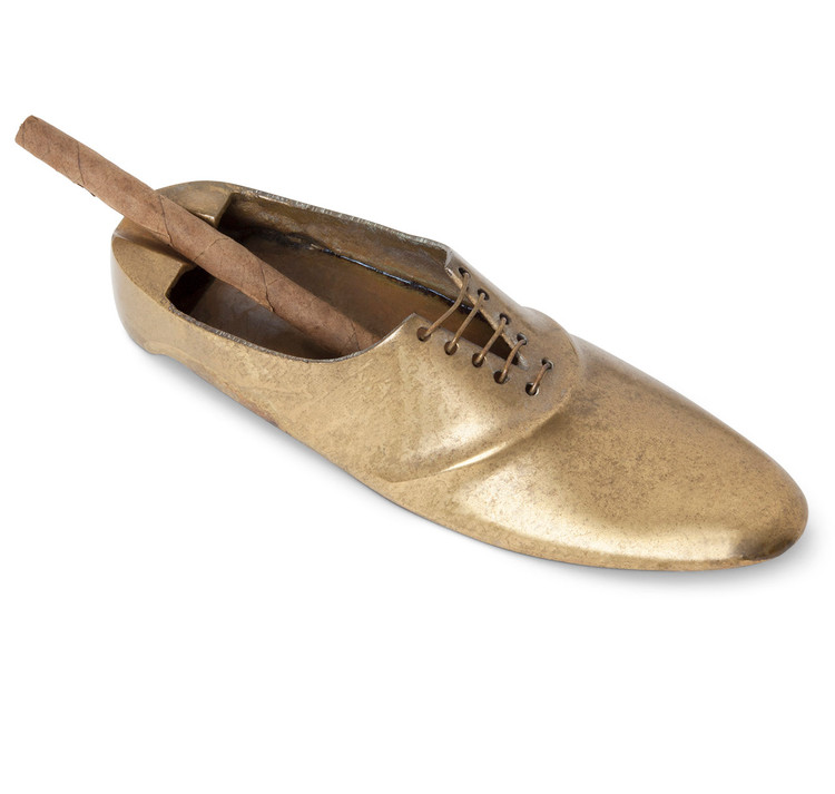 Brass Gentleman's Shoe Ashtray