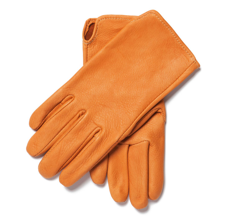 Saddle Tan Deerskin Gloves