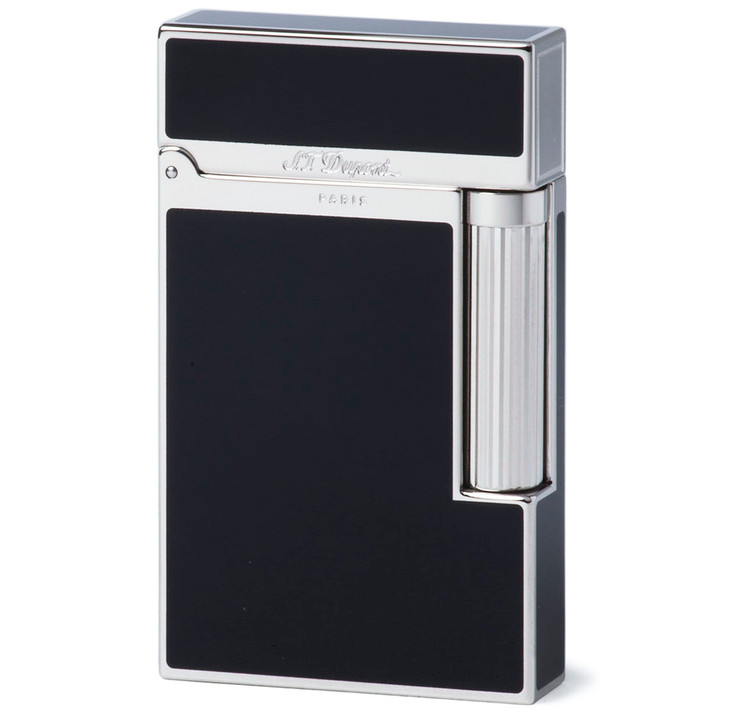 S.T. Dupont Ligne 2 Black Chinese Lacquer & Palladium Lighter