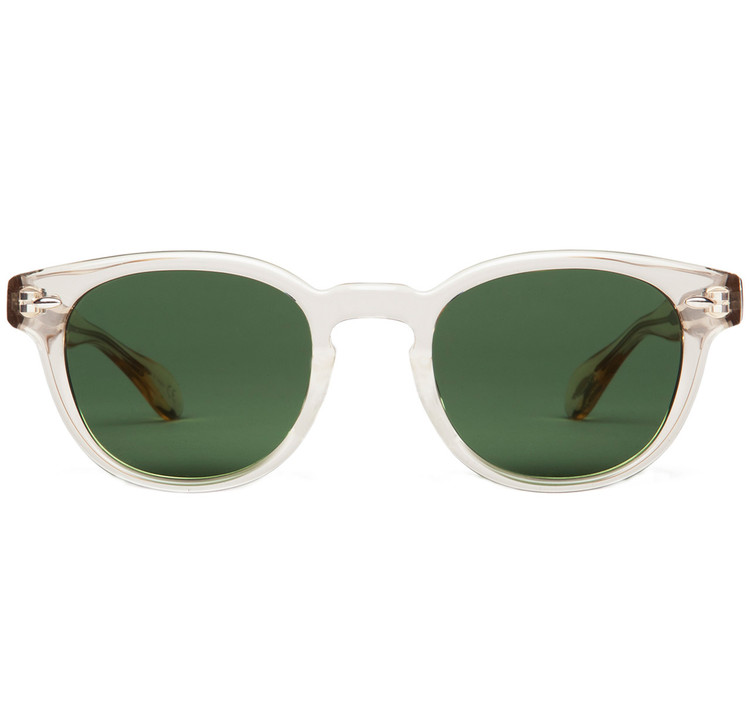 Oliver Peoples Sheldrake Buff with Green C Mineral Glass