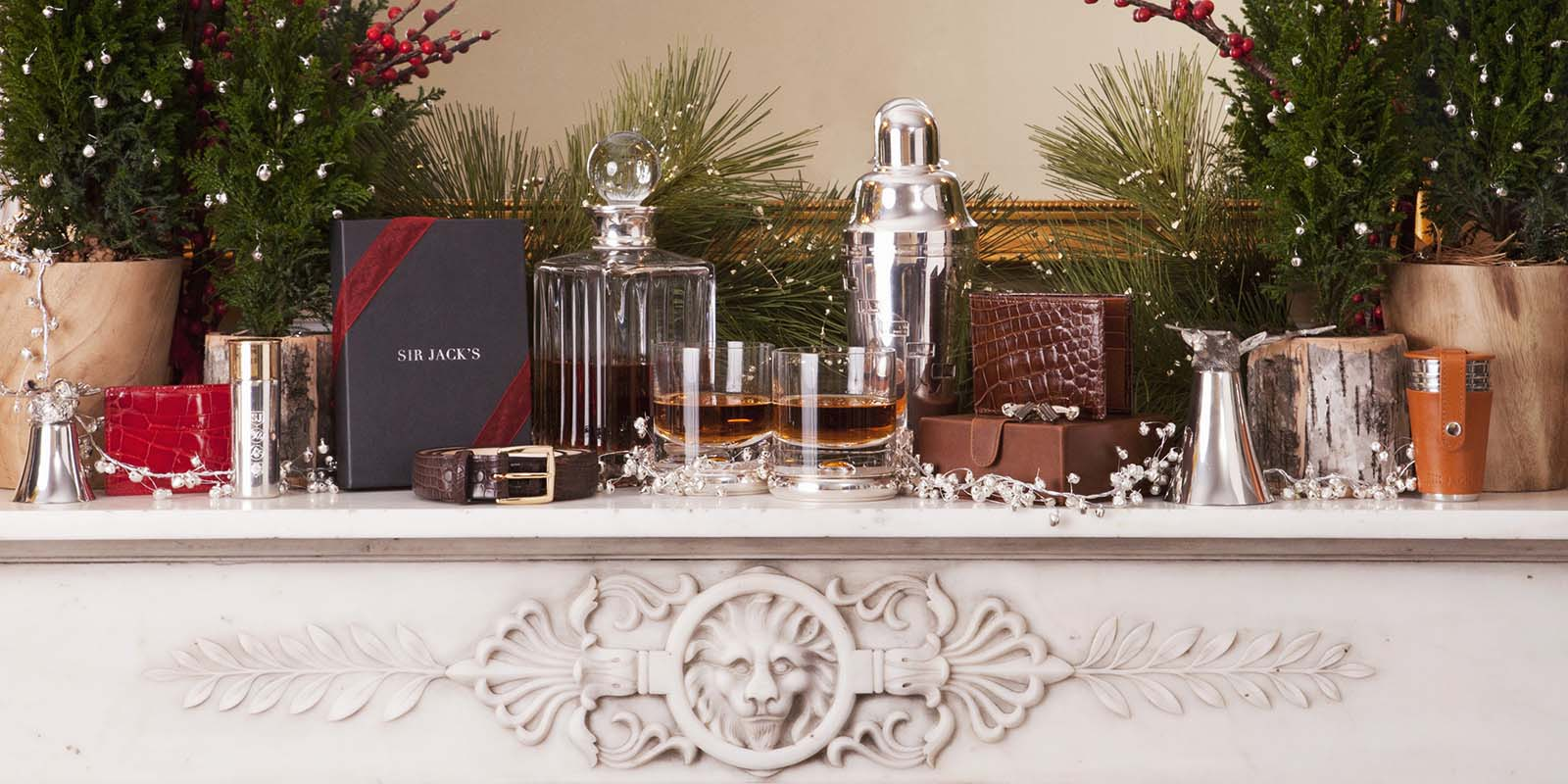 Sir Jack's luxury sterling gifts