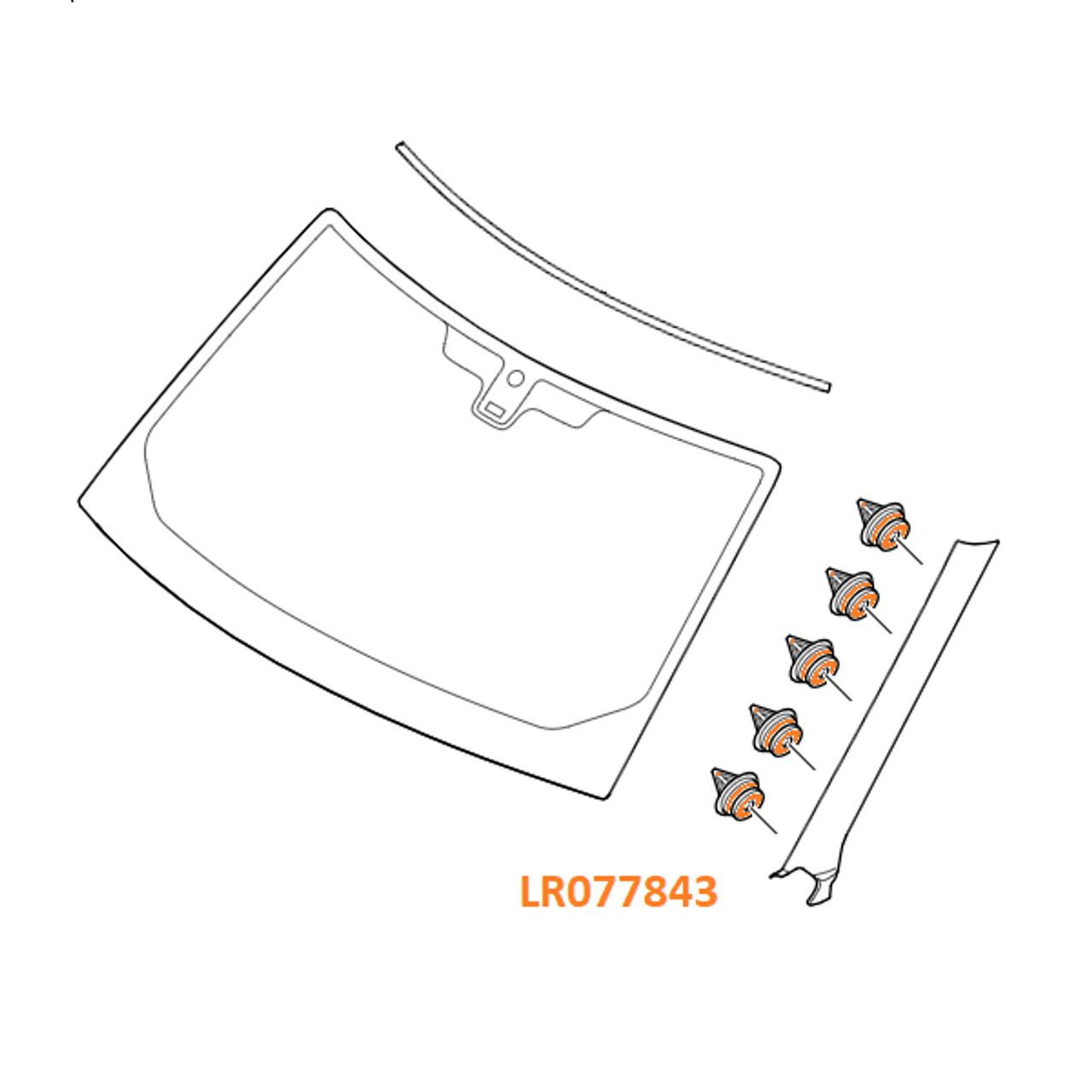 Clip Kit - LR077843