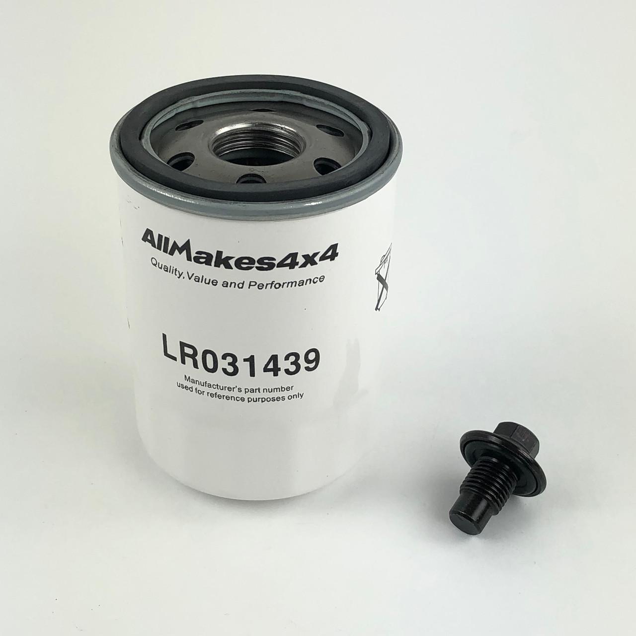 Oil Filter - LR031439 + 1013938