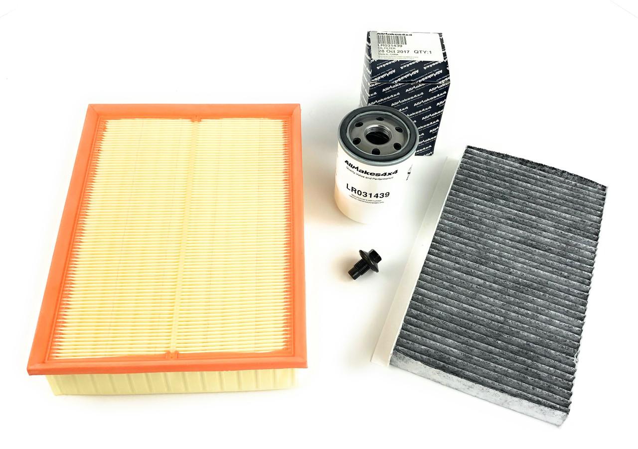 Filter Kit - PHE000112 + LR023977 + LR031439 + 1013938