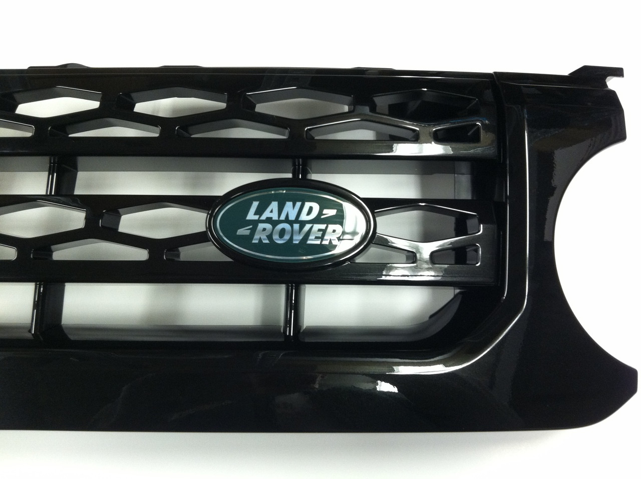 Santorini Glass Black Grille - LR023731