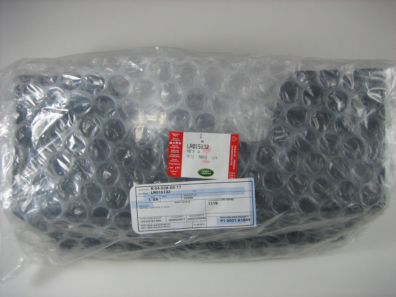 Towing Eye Cover - LR015132