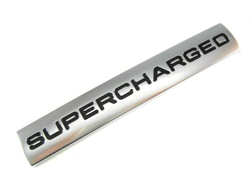 Supercharged Badge - LR096105