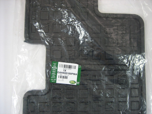 LR3 and LR4 3rd Row Rubber Floor Mat - EAH500100PMA