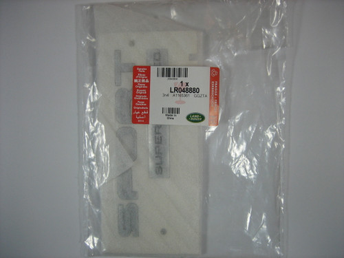 SUPERCHARGED Badge - LR048880