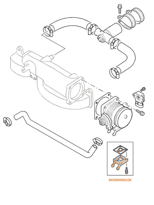 Throttle Body Repair Kit - MGM000010K