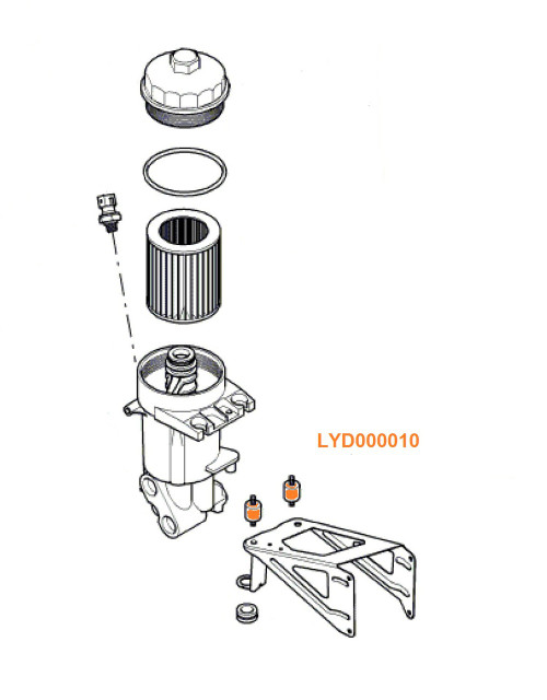 Rubber Bushings - LYD000010